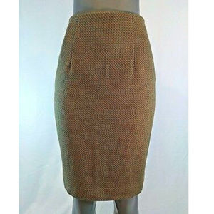 Ellen Tracy Wool Pencil Skirt Petite Size 6P